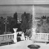 Лазаревское. Вид на море, 1970 год.