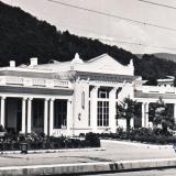 Лазаревское. Железнодорожный вокзал, 1970 год