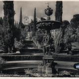 Сочи. Дендрарий. Большой фонтан и главная лестница, 1949 год