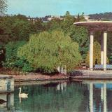 Сочи. Дендрарий. Лебединое озеро, 1977 год.