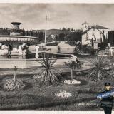Сочи. Фонтан у курортной поликлиники, 1940 год