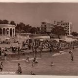 Сочи. Городской пляж, 1955 год