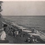 Сочи. Городской пляж у Приморского парка, 1935 год