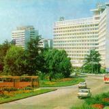 """Сочи. Гостиница """"Москва"""", 1980 год"""