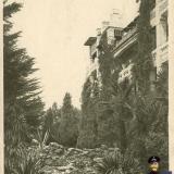 Сочи. Кавказская Ривьера. Вид на 2-й корпус, 1920-е годы