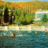 """Сочи. Международный туристический лагерь """"Спутник"""", 1972 год."""