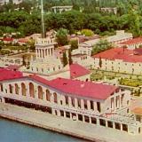 Сочи. Морской вокзал, 1965 год