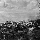 СОЧИ. Общий вид на Сочи с горы, 1934 год