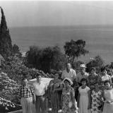 Сочи. Спуск к морю от гостиницы Приморская, 1963 год