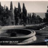 """Сочи. Санаторий """"Х лет Октября"""", Вид на море, 1951 год"""
