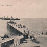 Сочи. Пароход у пристани, до 1917 года
