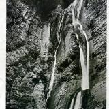 Сочи. Водопад в долине реки Сочи, 1939 год