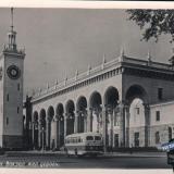 Сочи. Вокзал жел. дороги, 1955 год