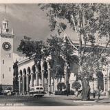 Сочи. Железнодорожный вокзал, 1956 год