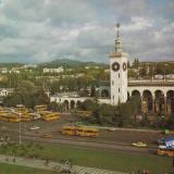 Сочи. Железнодорожный вокзал. 1983 год.