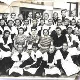 Тихорецк. Выпуск  школы № 4 1954 г.