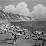 Туапсе. Городской пляж, 1960 год