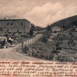 Туапсе. Вид на Варваринское Училище, около 1906 года