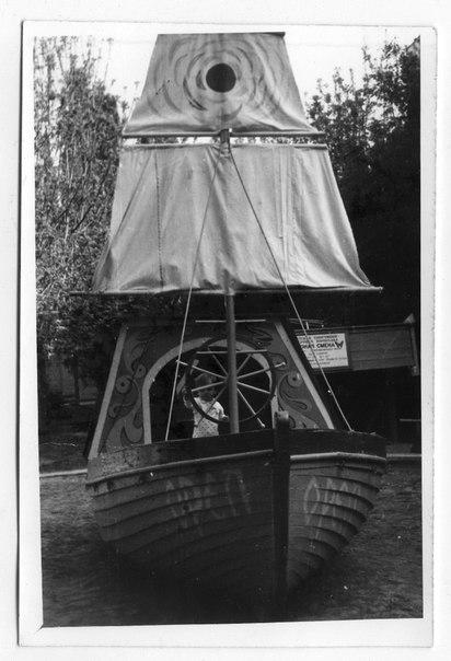 Краснодар. Детская площадка на Московской 2/1, 1985 год
