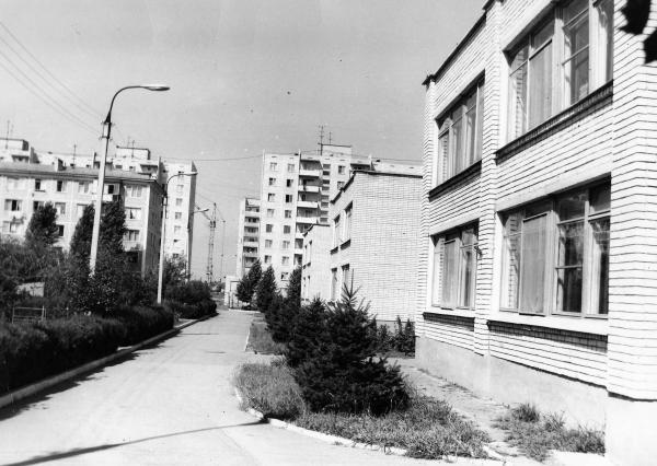 Краснодар. Гидрострой. Детский сад № 183 Краснодарского ХБК