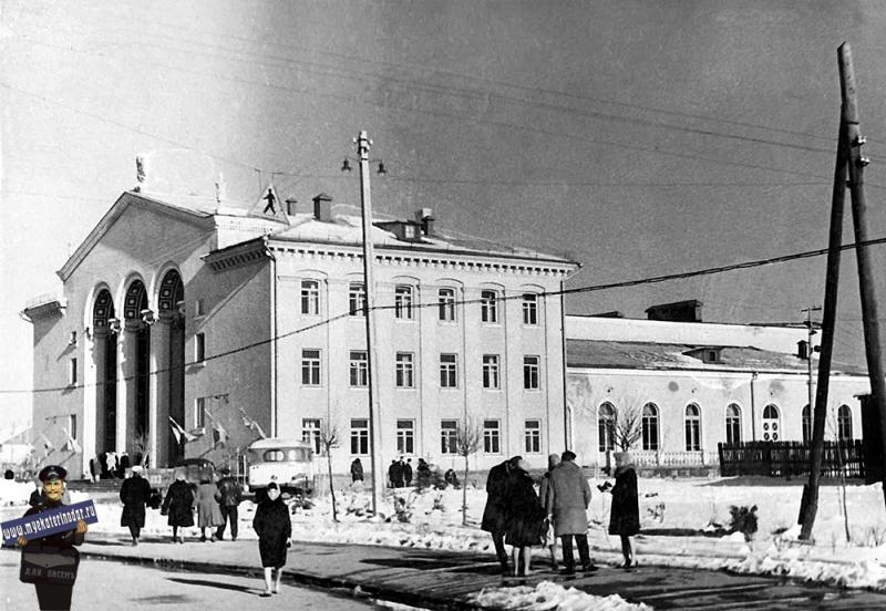 Краснодар. Дворец культуры КСК, 1960-е годы