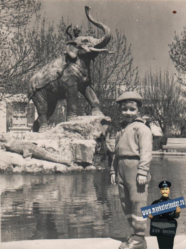 Детский сквер, около 1962 года