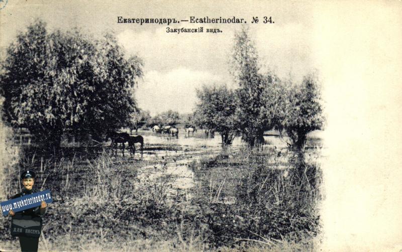 Екатеринодар №34. Закубанский вид