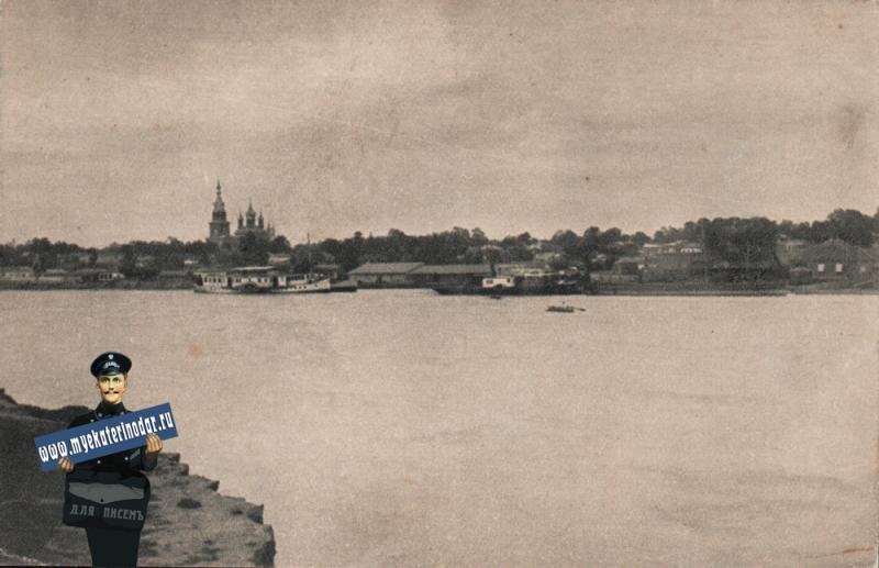 Екатеринодар. Берег Кубани, до 1917 года