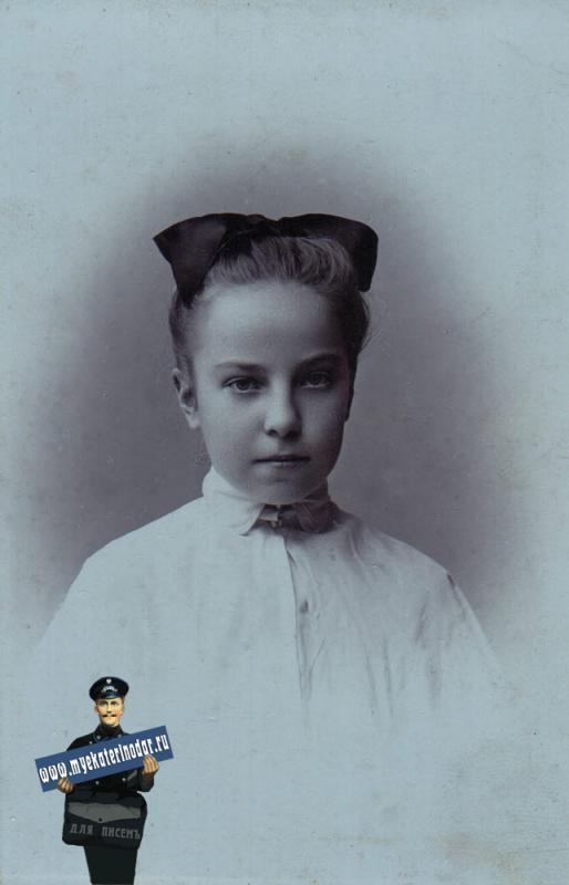 Екатеринодар. Ксения. Фотограф А.П. Чернов