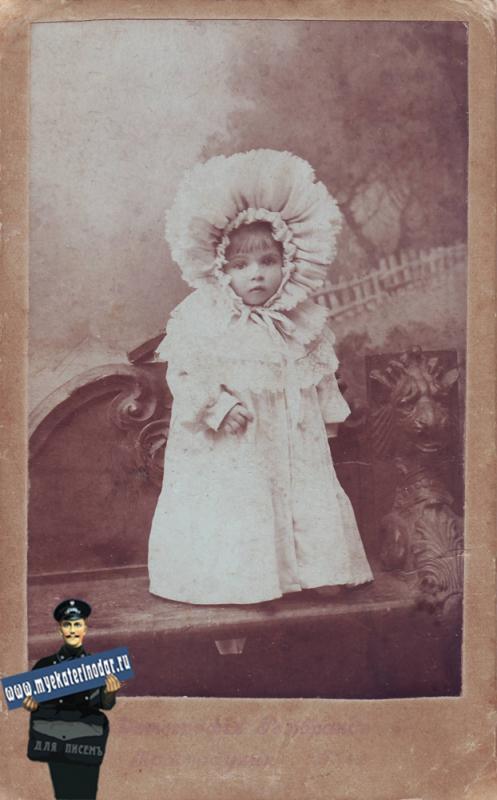 """Фотография """"Рембрандт"""": Малова Нина - 1 годик."""
