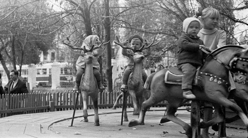Городской парк им. М. Горького, 1967 год