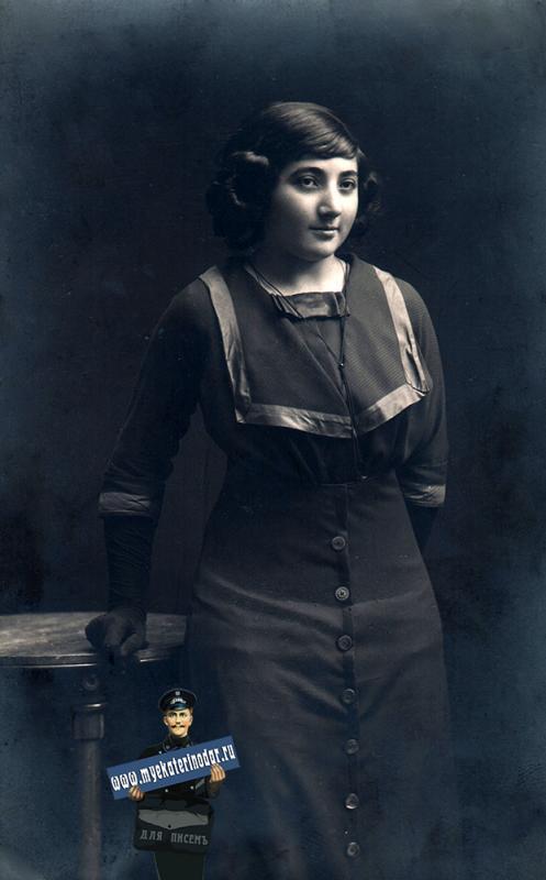 Екатеринодар. Крангауз Фаня, Фотограф не известен, 1912 год
