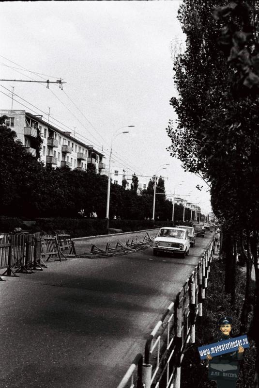 """Краснодар. """"Черёмушки"""", улица Карла Либкнехта, 1978 год."""