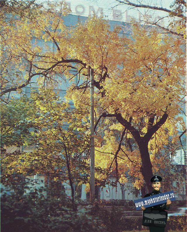 Краснодар. Дом Быта на ул. Хакурате, 1975 года