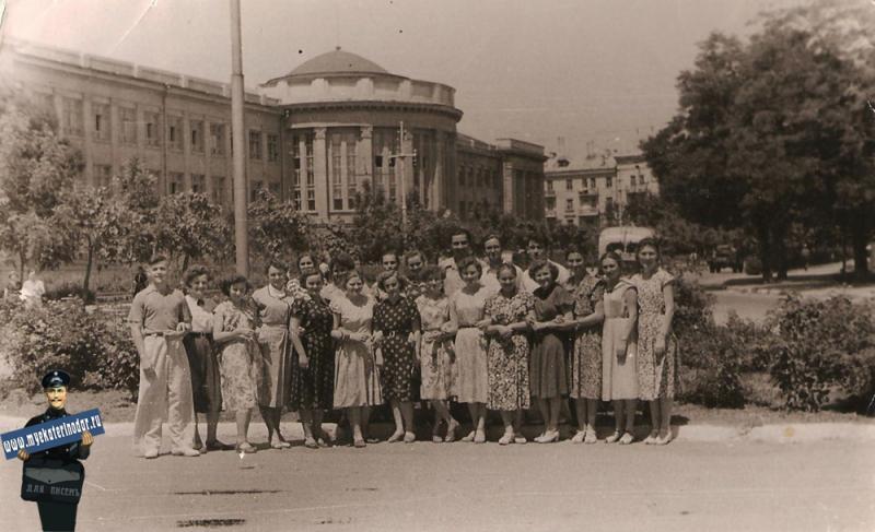 Краснодар. Институт пищевой промышленности. 1960 год.