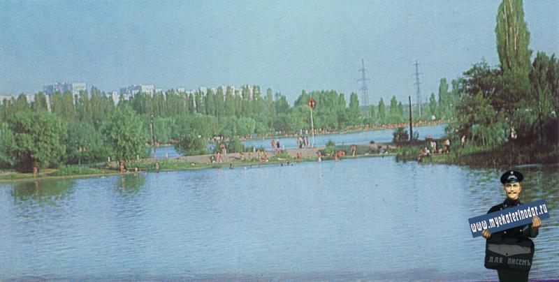 Краснодар. Парк культуры и отдыха им. 40-летия Октября. 1985 год.
