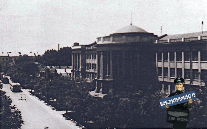 Краснодар. Политехнический институт, конец 50-х годов.
