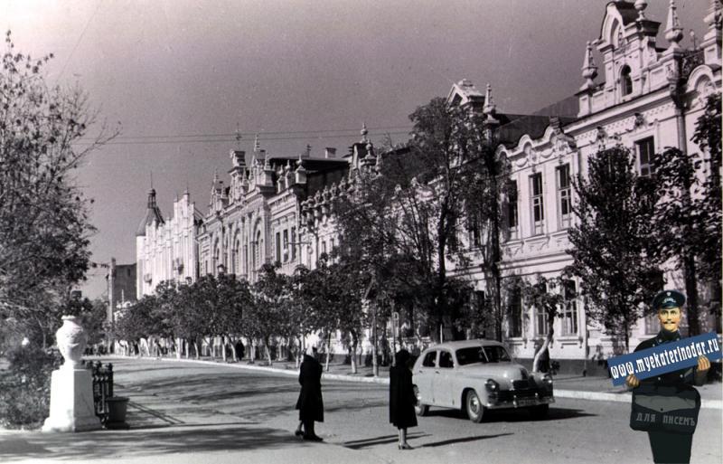 Краснодар, середина 60-х