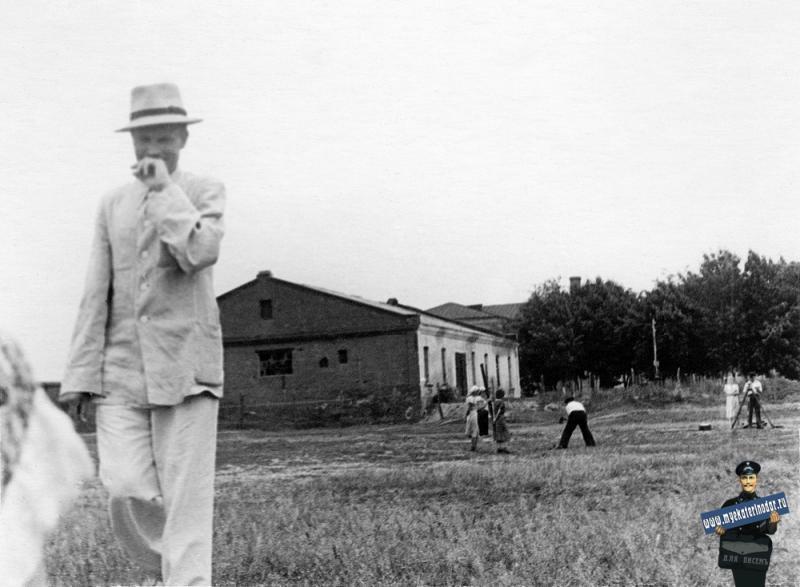 Краснодар. Старый Ипподром (перед сносом), средина 60-х годов.