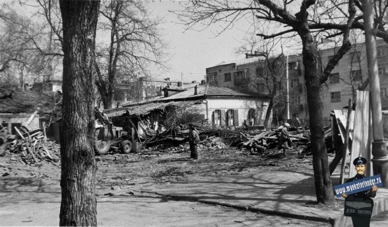 Краснодар. Снос домов на улице Тельмана