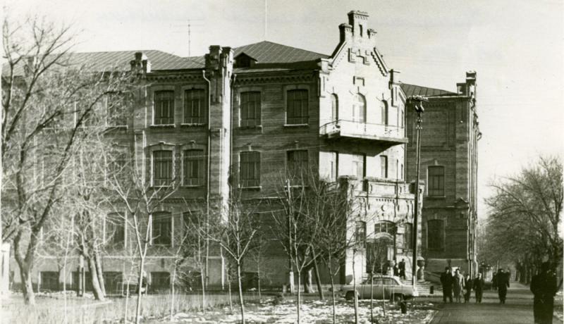 Краснодар. Кубанский сельскохозяйственный институт, январь 1962 года