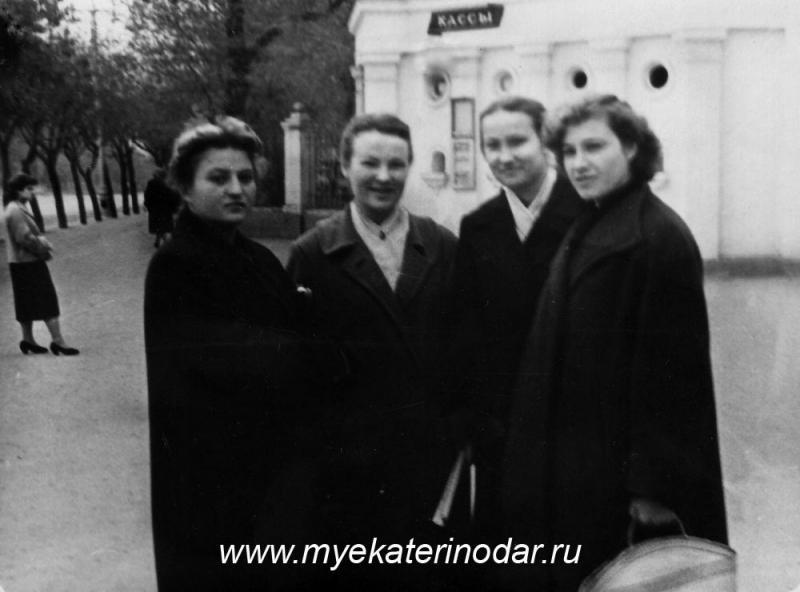 Краснодар. Парк им. М Горького, осень 1959 года