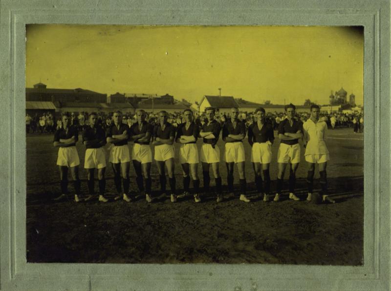 Краснодар. Первая сборная города по футболу, 1 августа 1926 года