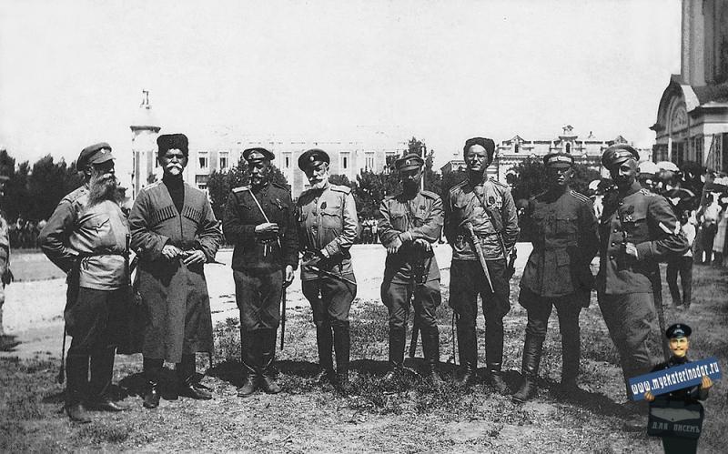 Екатеринодар. Соборная площадь, август 1918 г.