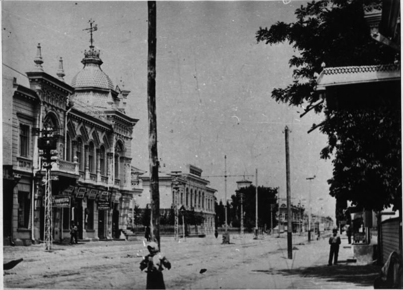 Екатеринодар. Угол улиц Красной и Графской.