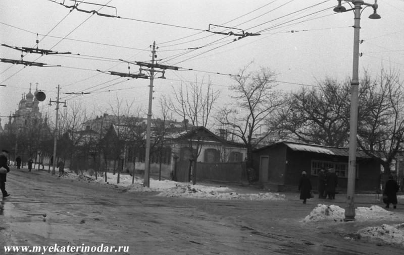 Краснодар. Угол улиц Северной и Коммунаров, 60-е
