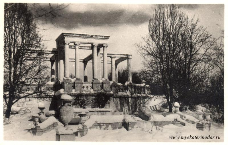 Краснодар. Уголок горпарка им. М.Горького, 1956 год