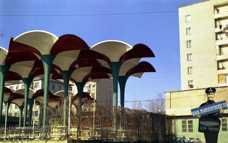Краснодар. Кафе у Фестивального универмага, 1990 год