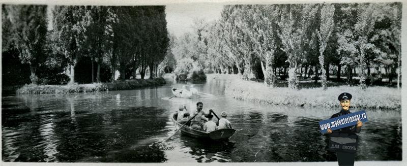 Краснодар. №7. Горпарк им. М. Горького, 1956 год