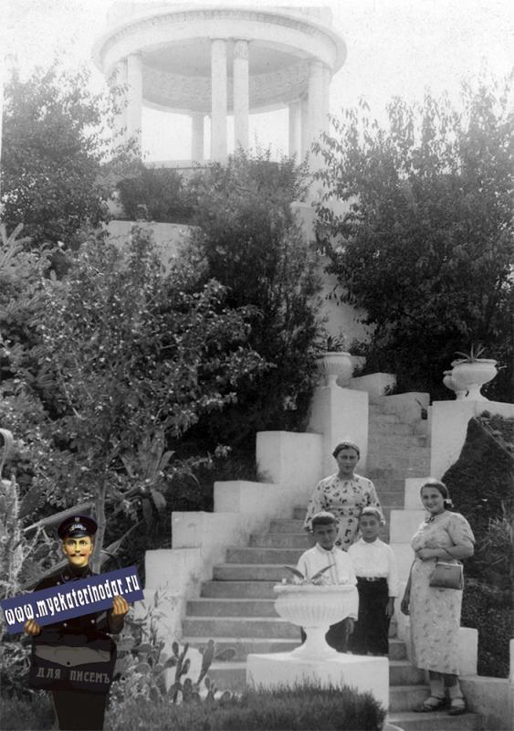 Краснодар. Беседка в горпарке, 1938 год